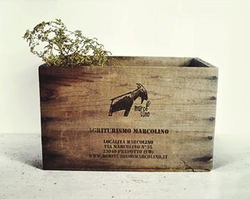 Agriturismo Marcolino /corporate identity /progettazione grafica marchio